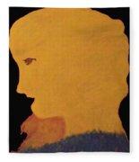 Golden Lady   -036 Fleece Blanket