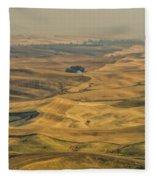 Golden Light Fleece Blanket