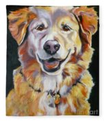 Golden Retriever Most Huggable Fleece Blanket