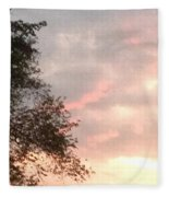 Golden Sky Fleece Blanket