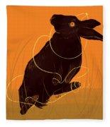 Golden Snare Fleece Blanket