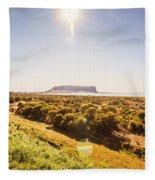 Golden Stanley Landscape Fleece Blanket