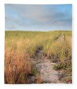 Golden Trail Fleece Blanket