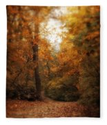 Golden Trail Fleece Blanket
