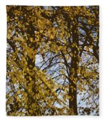Golden Tree 2 Fleece Blanket