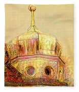 Golden Turret Fleece Blanket