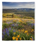 Golden Valley Fleece Blanket