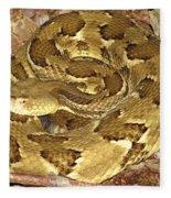 Golden Viper Fleece Blanket