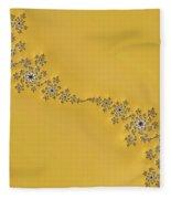 Golden Wave Fleece Blanket