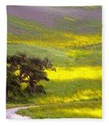 Goldenrod Oak Santa Ynez California 2 Fleece Blanket