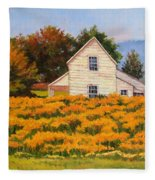 Goldenrod Time Fleece Blanket