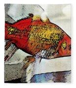 Goldfish Fleece Blanket