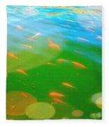 Goldfishes Fleece Blanket