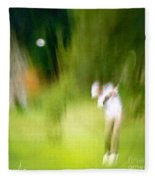 Golf At The Blue Monster In Doral Florida 01 Fleece Blanket