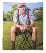 Golf Club Pro Fleece Blanket