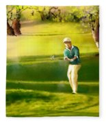 Golf In Spain Castello Masters  02 Fleece Blanket