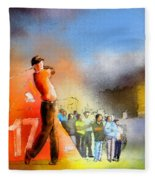 Golf Madrid Masters 01 Fleece Blanket