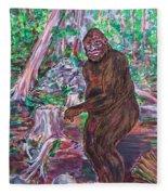 Goliath - The Bigfoot Of Ash Swamp Road Fleece Blanket