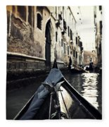 gondola - Venice Fleece Blanket