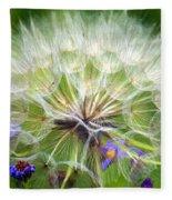 Gone To Seed Fleece Blanket