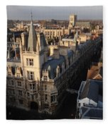 Gonville And Caius College Fleece Blanket
