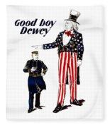 Good Boy Dewey Fleece Blanket