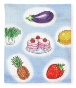 Good Food Fleece Blanket