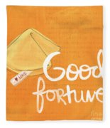Good Fortune Fleece Blanket