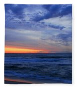 Good Morning - Jersey Shore Fleece Blanket