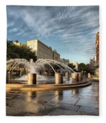Good Morning Charleston Fleece Blanket
