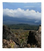 Good Morning Maui Fleece Blanket