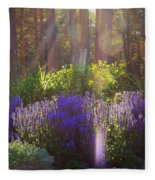Good Morning Sunshine Fleece Blanket