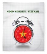 Good Morning, Vietnam - Alternative Movie Poster Fleece Blanket