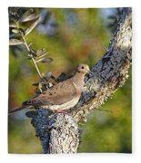Good Mourning Dove By H H Photography Of Florida Fleece Blanket