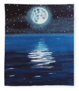 Good Night Moon 1 Fleece Blanket