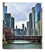 Good Old Chicago Fleece Blanket