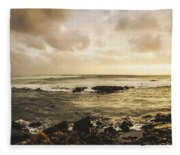 Goodbye Sunshine Fleece Blanket