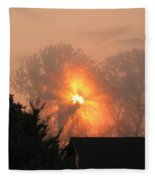 Goodnight Kiss Fleece Blanket