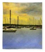 Goodnight, Nantucket Fleece Blanket