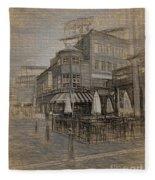 Goody Glovers Irish Pub - Boston Fleece Blanket