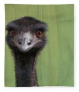 Goofing Around Emu Fleece Blanket