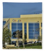 Google Orange County Fleece Blanket