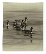 Goose Bumps Fleece Blanket