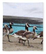 Goose Crossing Mayville Park Fleece Blanket