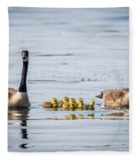 Goose Family Fleece Blanket
