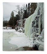 Gooseberry Frozen Falls Fleece Blanket