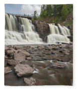 Gooseberry Middle Falls 24 Fleece Blanket