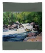 Gooseberry River Fleece Blanket