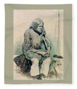 Gorbun2 1881 Ilya Repin Fleece Blanket