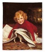 Gore William Henry Playmates William Henry Gore Fleece Blanket